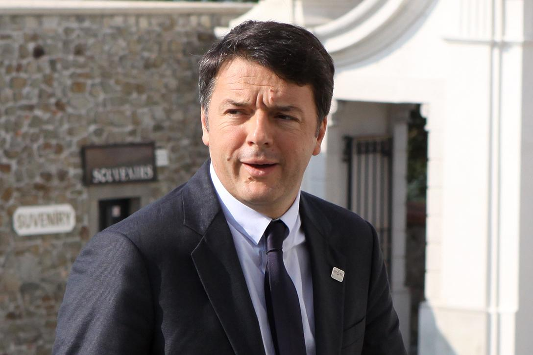Italian Prime Minister Matteo Renzi Photo credit: EU2016 SK / Flickr (CC0 1.0)