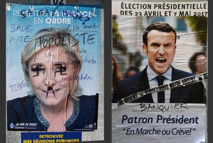 "WILL FRANCE TURN NEO-FASCIST? POLLS SAY ""NON!"""